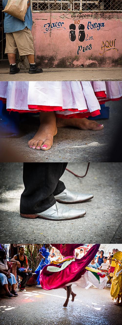 cuba feet