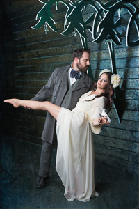 Antonin Dvorak (Mark Siano) and Camille (Tanya Brno)