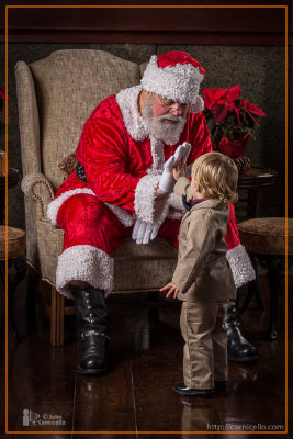 A High-Five for Santa!