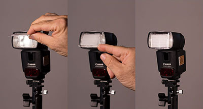 extending the built-in diffuser on a speedlight