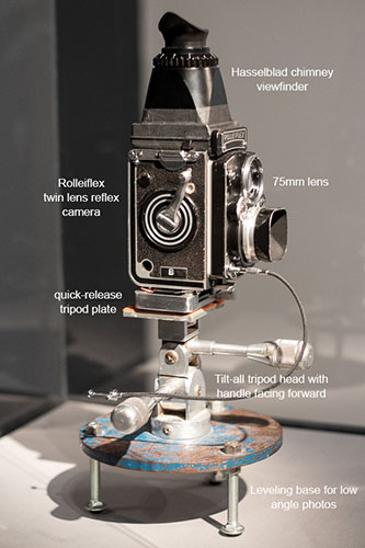 One of Irving Penn's Rolleiflex cameras