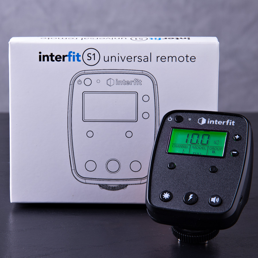 The Interfit S1 Universal Remote