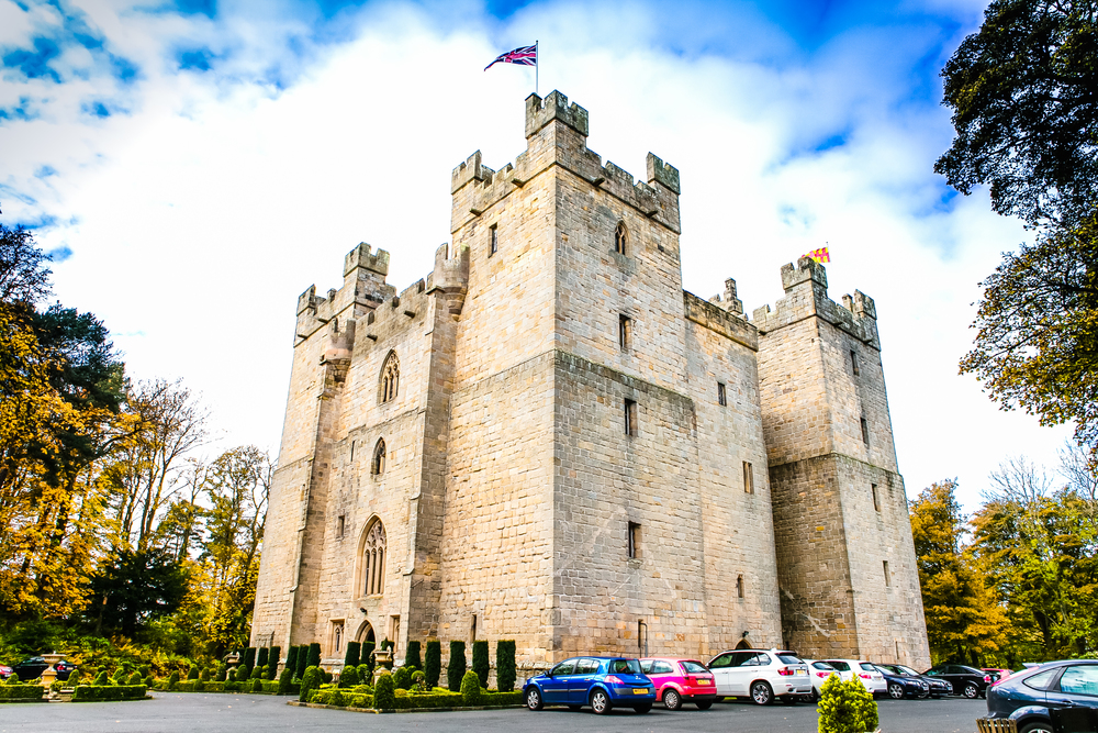 Langley Castle, Northumberland