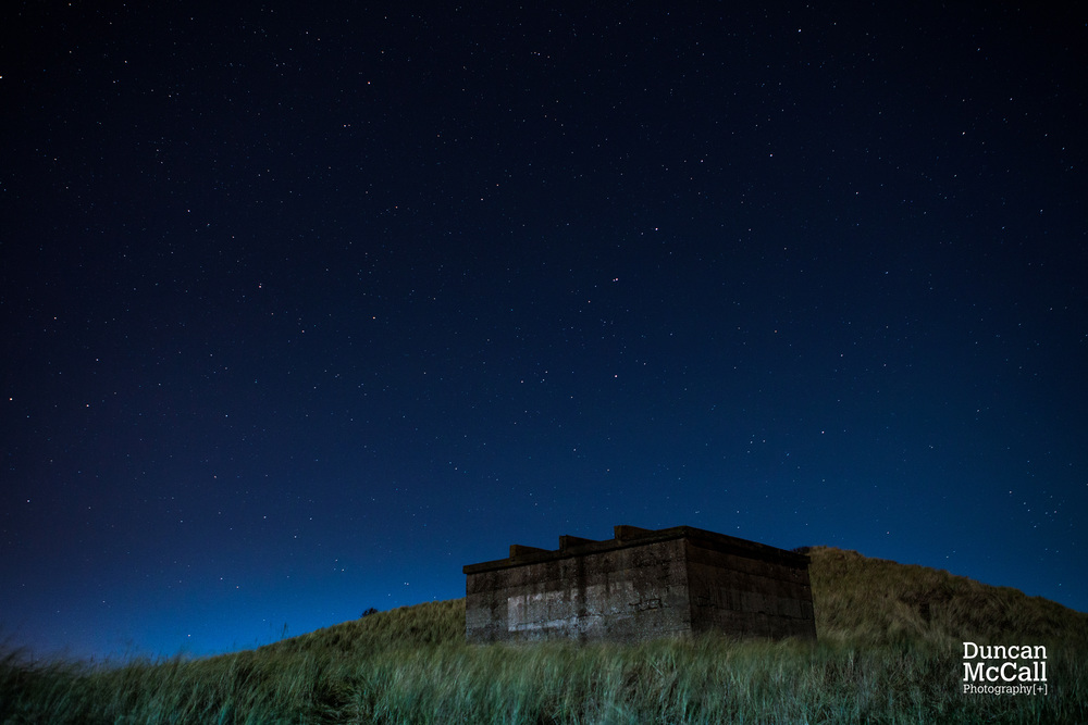 WWII Anti invasion Pillbox at Druridge Bay ©Duncan McCall Photography