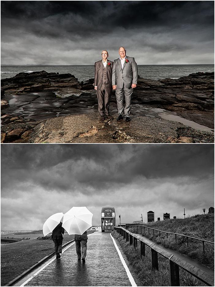 st marys lighthouse wedding photography
