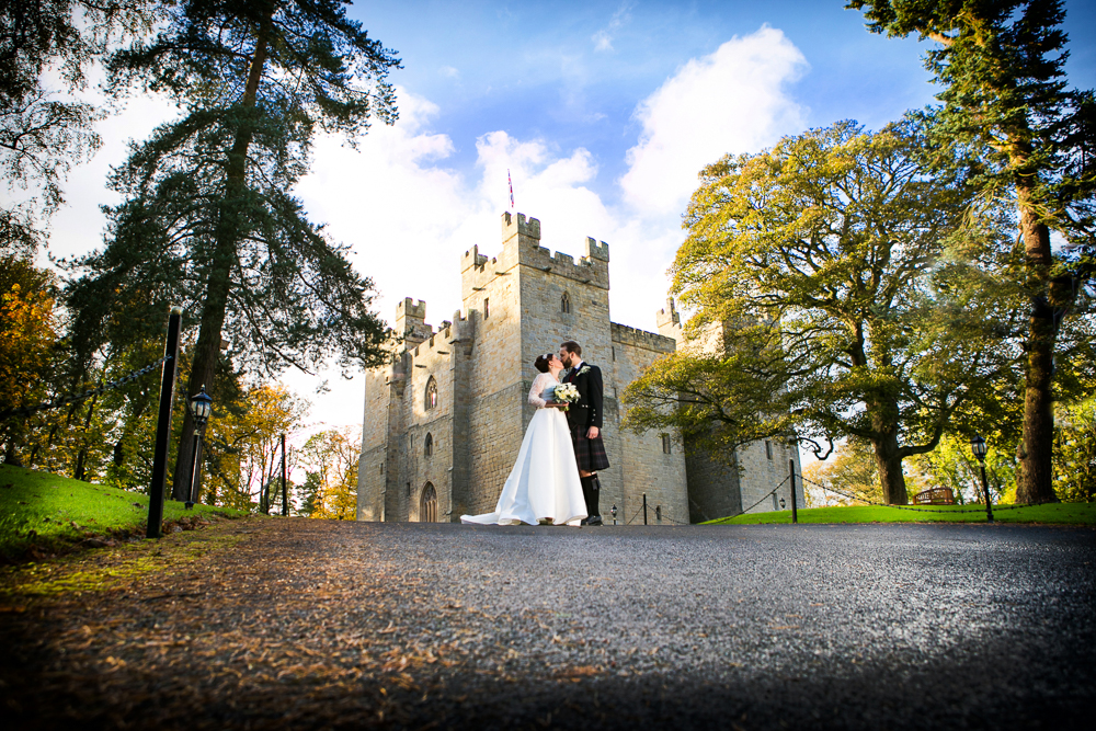 Langley Castle wedding photographer