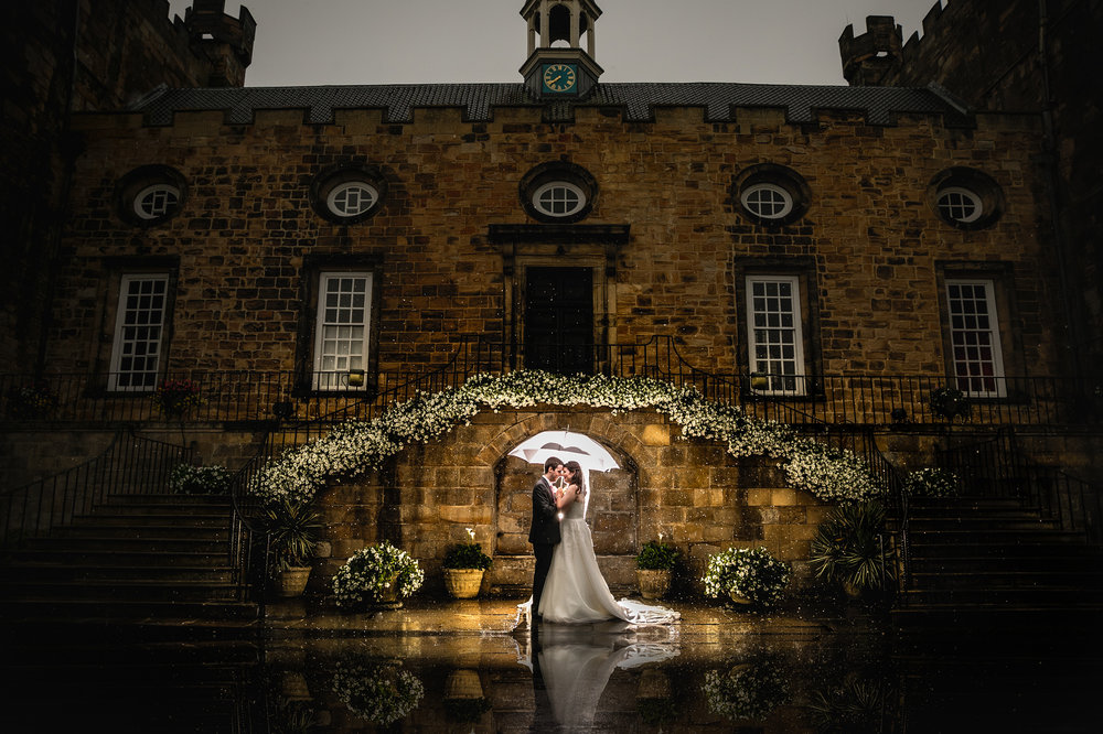 Looks Like Film - Featured - Featured on the daily update from Looks Like Film website. Selected from entries across the world.This was taken in at Lumley Castle during a spot of rain, Jen and Dan were up for a quick dive out in the rain for this shot, well worth it! Whether its rain or shine there is still opportunities to capture some wow factor portraits.