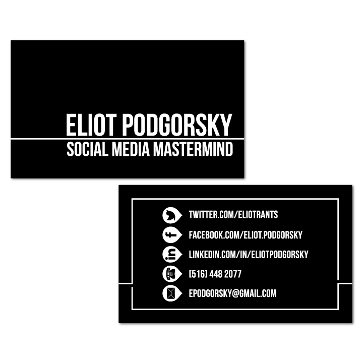 business cards — maggie rossetti