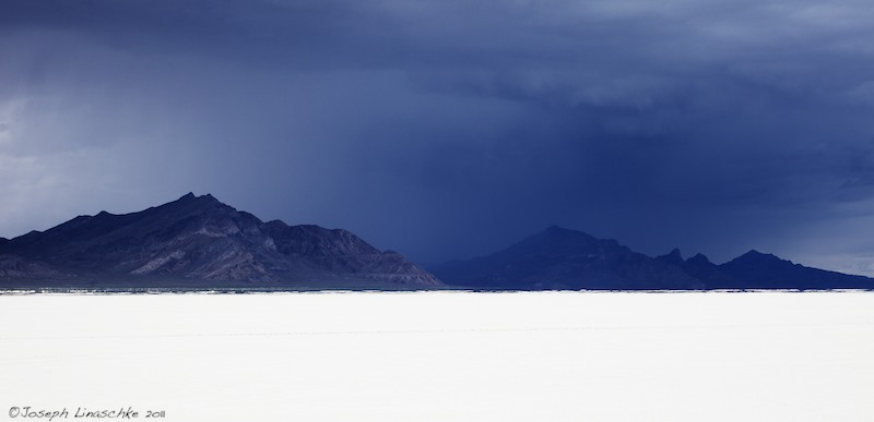 The Storm Approaches, Bonneville Salt Flats, Utah