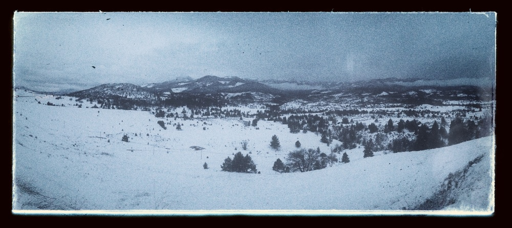 California, from the Oregon Border — Shot on an iPhone 5, using Panoramic feature