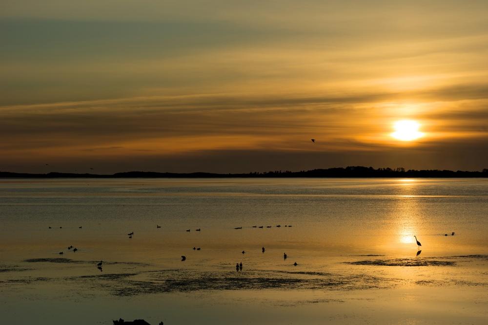Sunset in Tillamook, Oregon