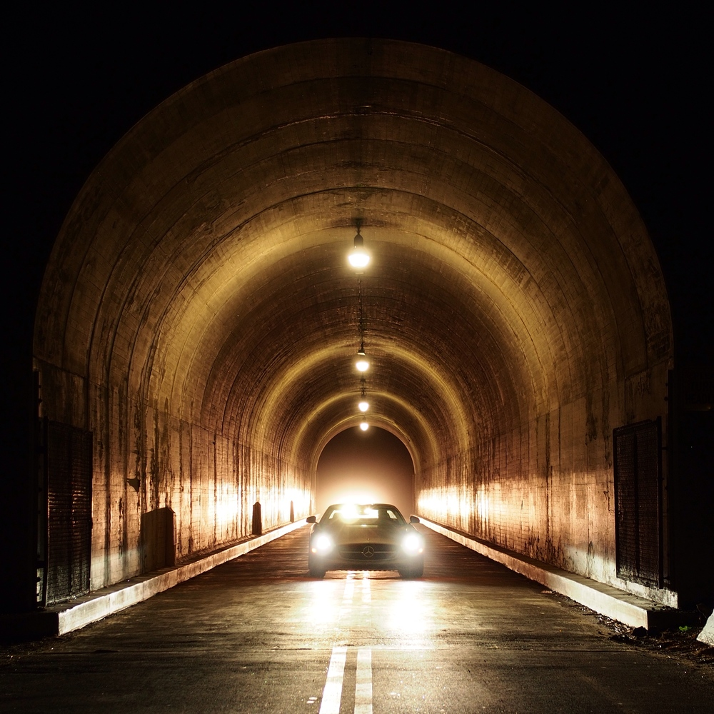 The tunnel on the way to the Griffith Observatory is a pretty cool location. Click to view and like on Instagram.