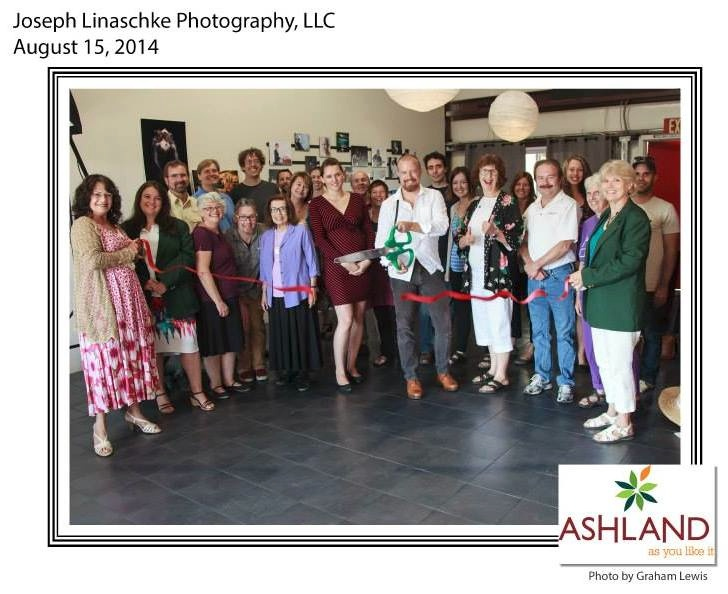 Joseph Linaschke Photography, LLC Chamber of Commerce Ribbon Cutting. Photo by Graham Lewis