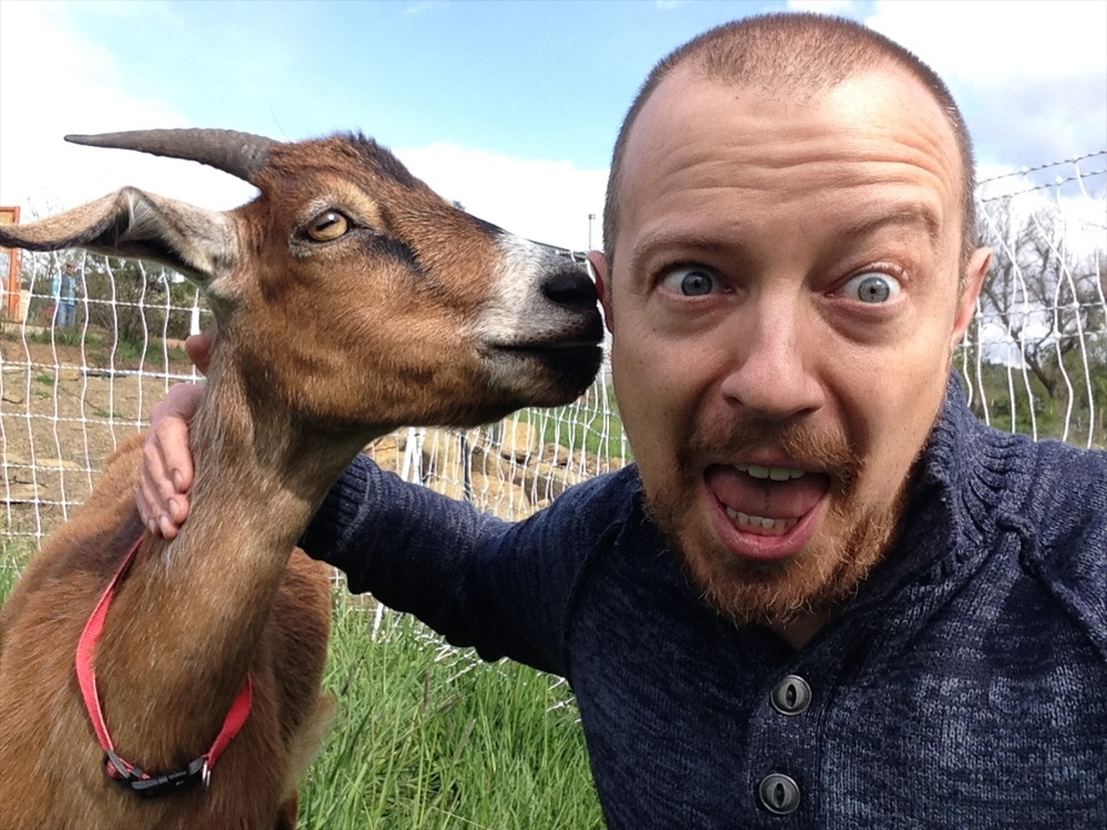 Oh, the secrets that goat shared with me that day…