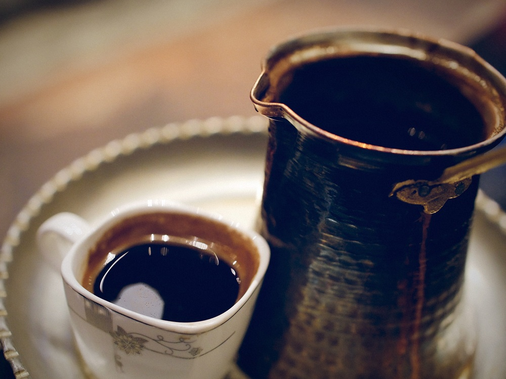Turkish coffee at Ebrik Coffee in Atlanta