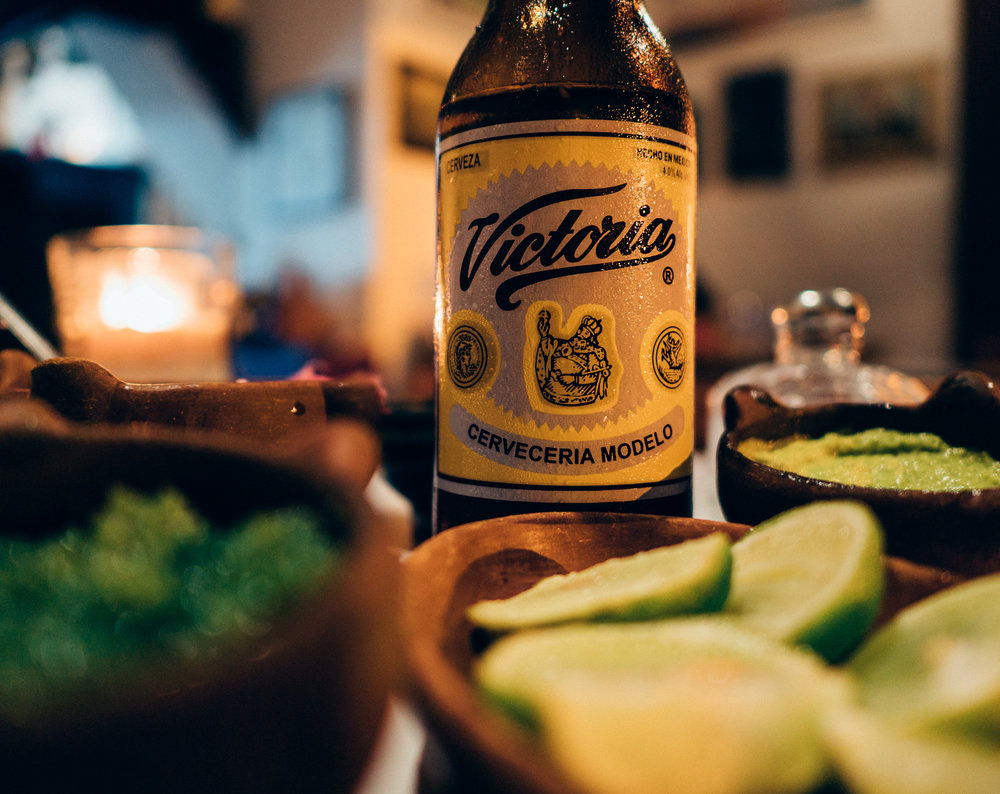 Victoria beer… the common alternative to Corona in these parts