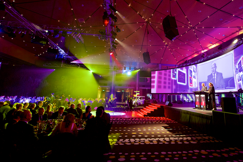 A Brisbane gala dinner event held at BCEC, photography by Photographer at Large.