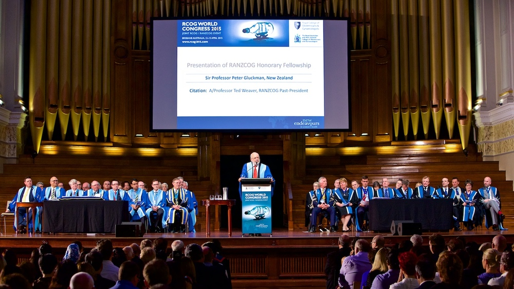 Brisbane City Hall Graduation Ceremony