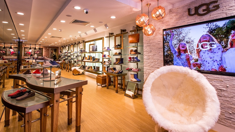Commercial Photography Brisbane UGG Store Photographer at Large