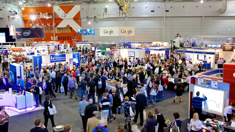 Industry expo at the Brisbane Convention & Exhibition Centre