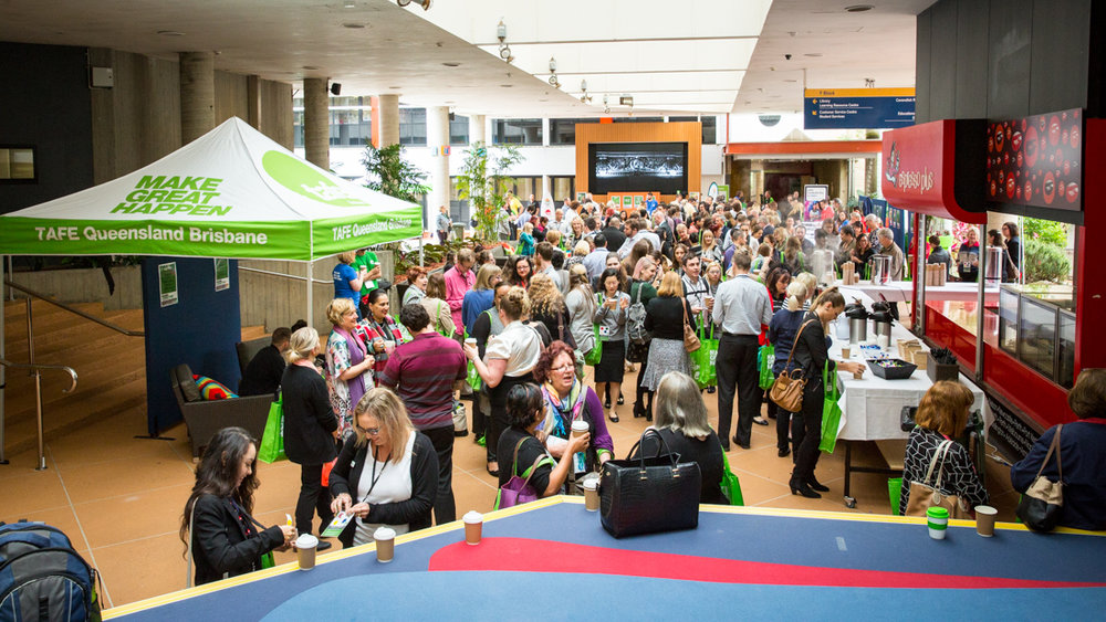 Click here to enter the TAFE QLD Brisbane Services Conference Gallery - Password Required