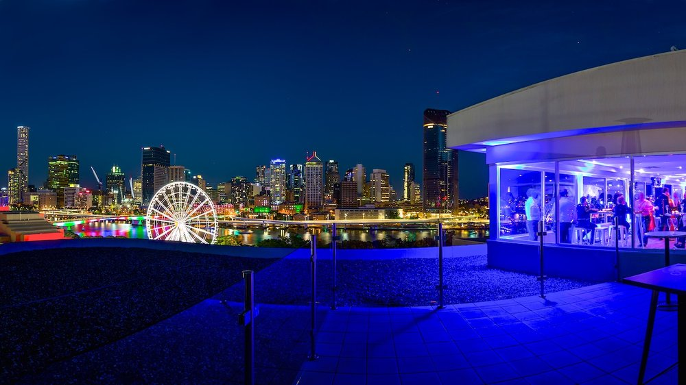 Brisbane South Bank corporate event