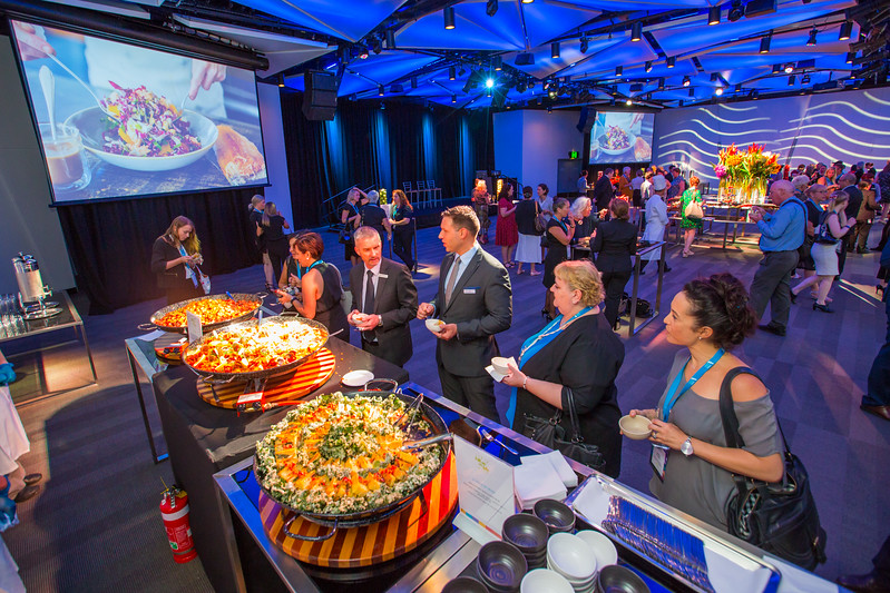 Enter the BCEC 'Fill up on Life' Menu Launch Photo Gallery