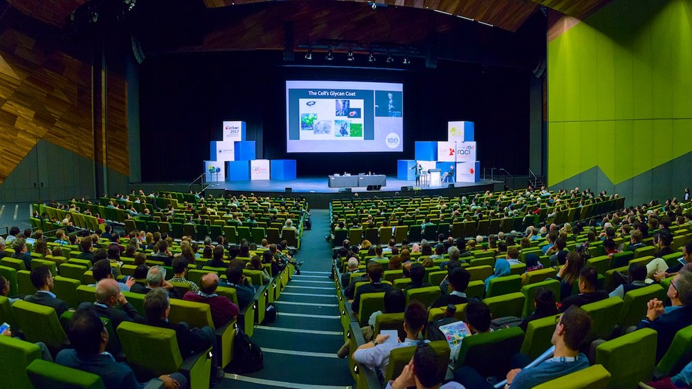 Main Hall MCEC world conference plenary session