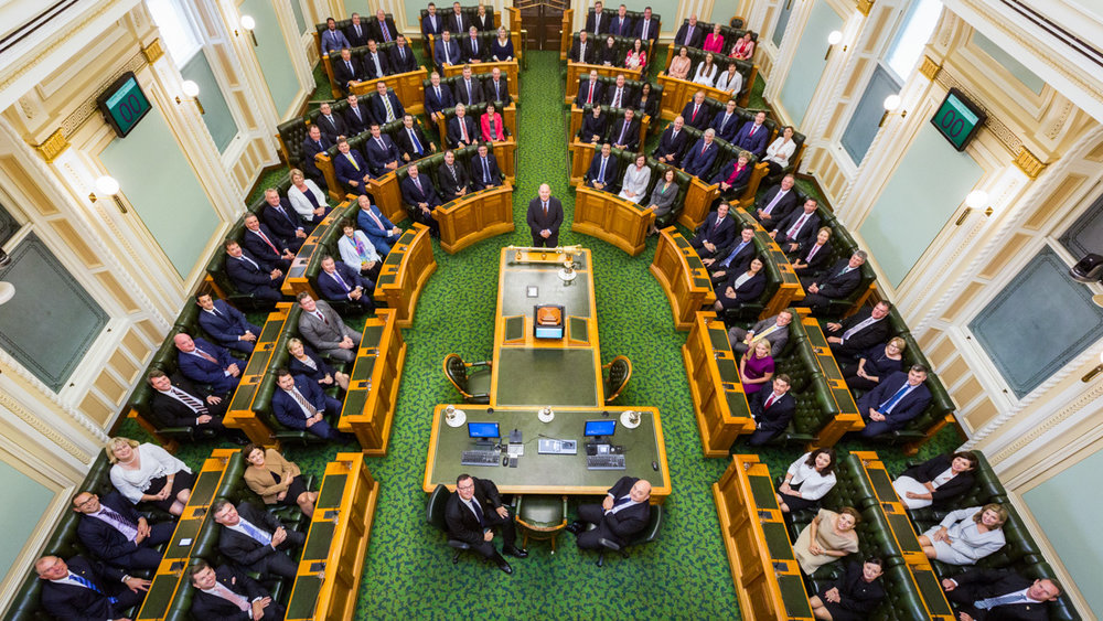 The Official Photo of Members of Queensland's 56th Parliament