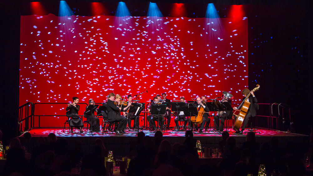 Brisbane symphony orchestra at a BCEC corporate dinner
