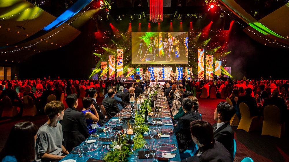 International gala awards dinner event at BCEC