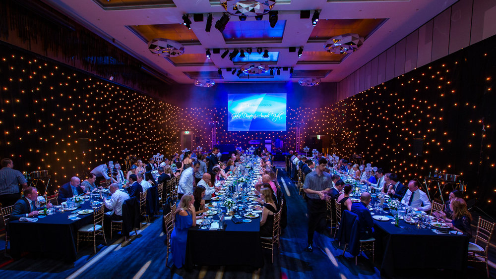 Corporate gala awards dinner at Royal Pines Resort Gold Coast