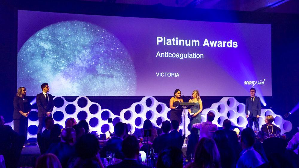 Corporate gala awards night at the InternContinental Sanctuary Cove Gold Coast