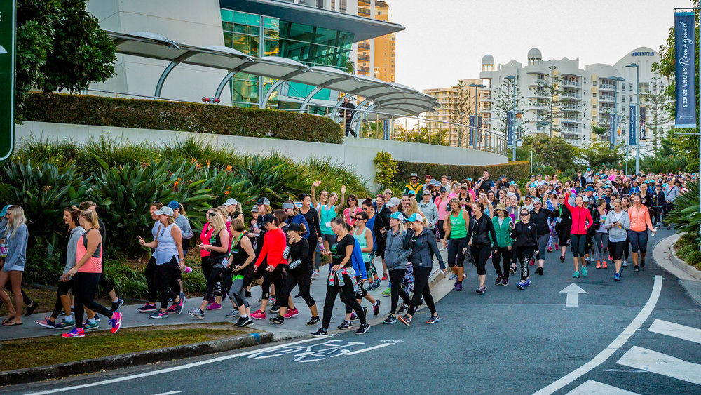 National conference fun run at the Gold Coast Convention & Exhibition Centre