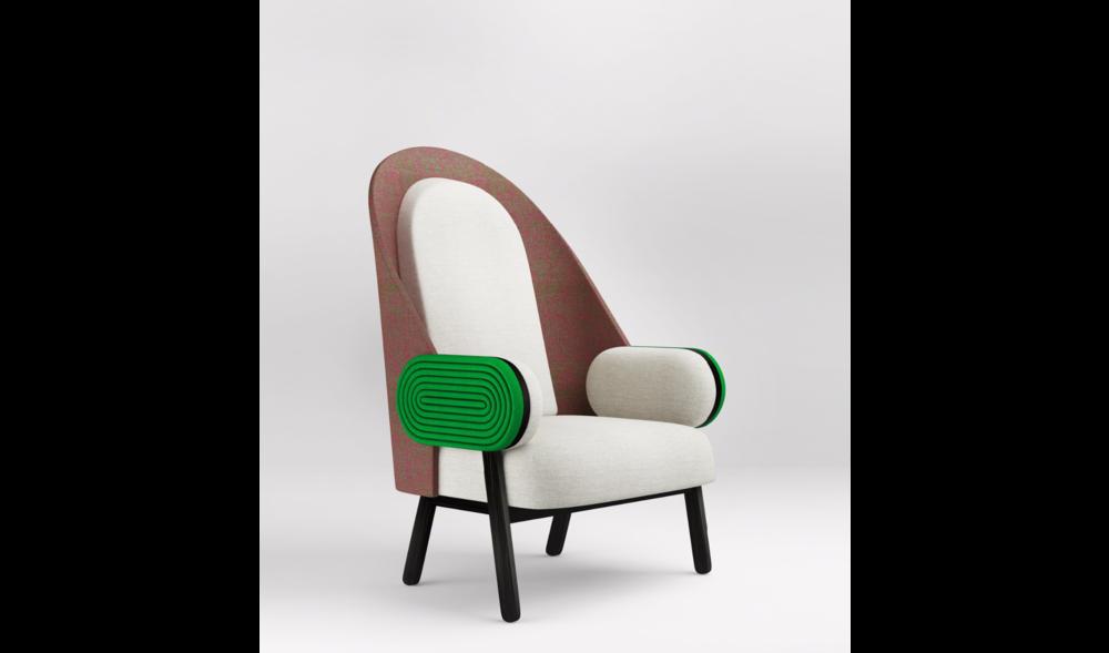 Charles Kalpakian Chair