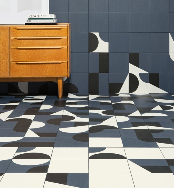 Barber Osgerby for Mutina - very much Ponti inspired and a modern take on these inspiring these 1960's tiles