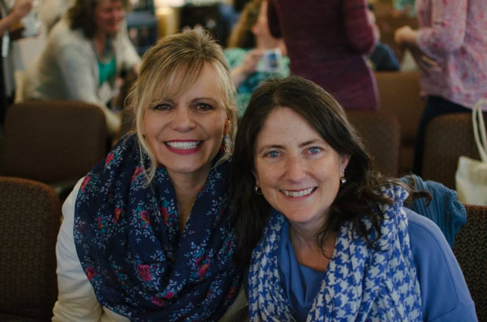 Martha (right) and friend enjoying Winsome 2015.