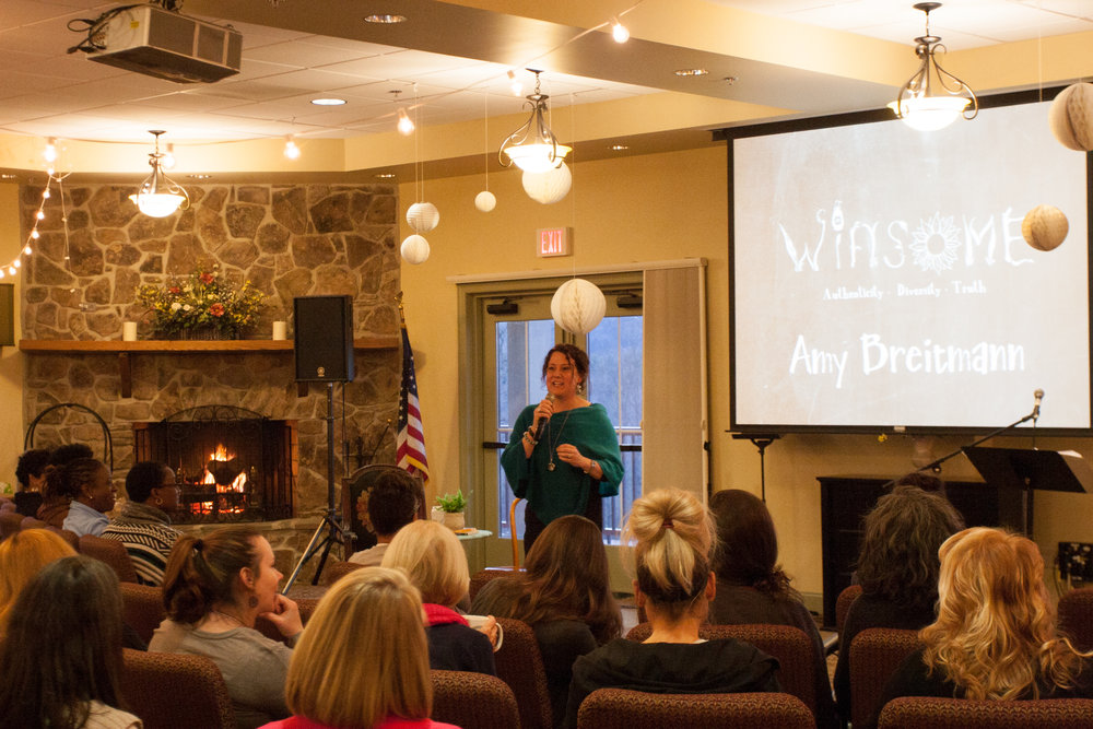 Amy shares the mission of ViBella at Winsome 2016.