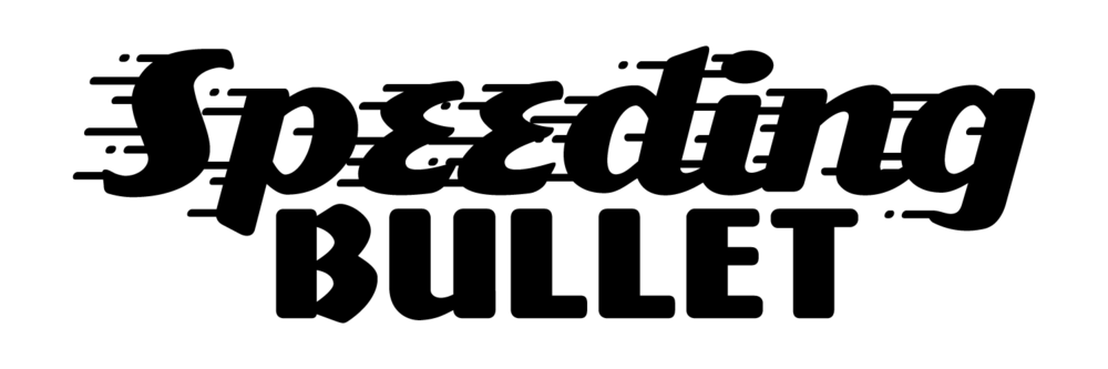 Speeding Bullet font by Comicraft