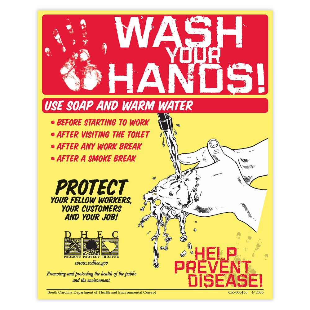 Wash Your Hands Notice