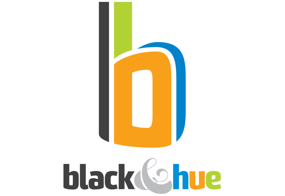 black&hue Logo Design