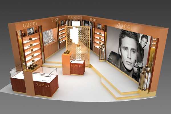 gucci retail design