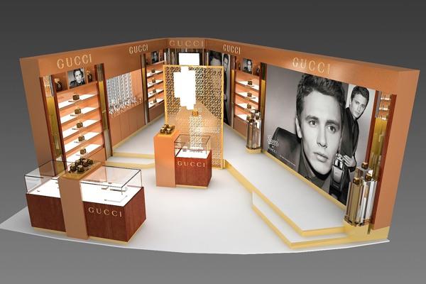 gucci retail design