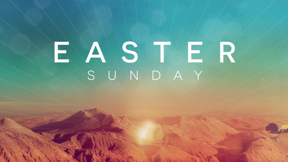 Join us on April 5th at 10 a.m.for Easter Sunday. Bring your family and friends and let's celebrate the Risen King Jesus!