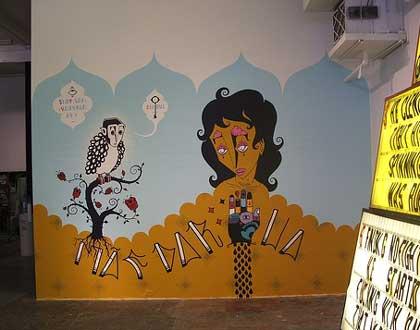 Mural by Calma