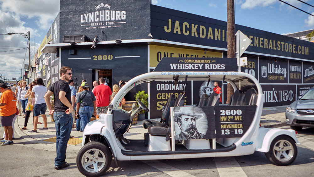 In all three cities, local pedicab partnerships helped to drive awareness for the pop-up and deliver guests right to the front door.