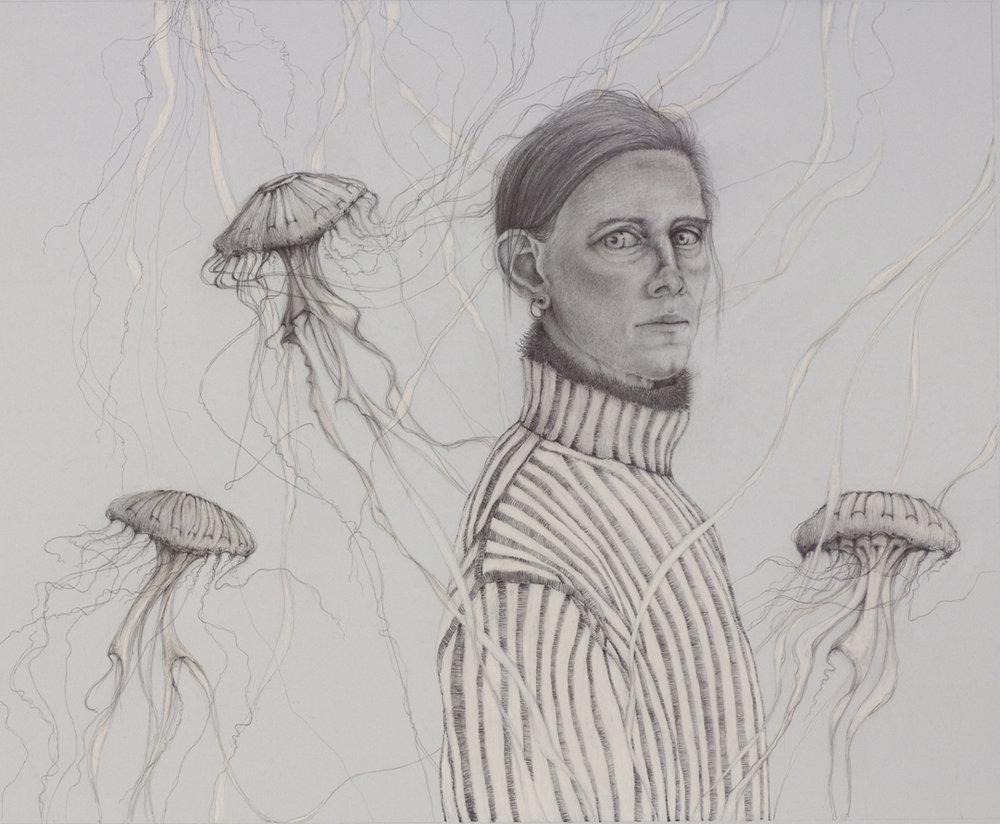 Jellyfish (self portrait)