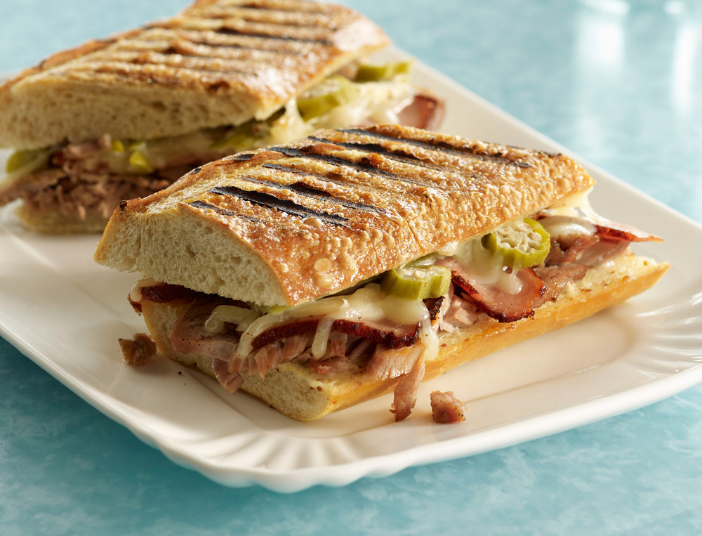 Creole Cubano Sandwich
