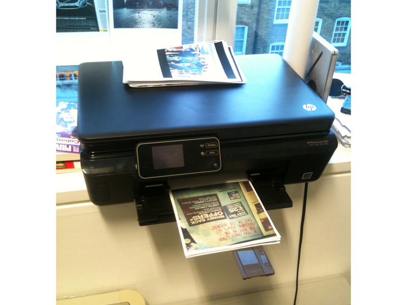 Our lovely printer