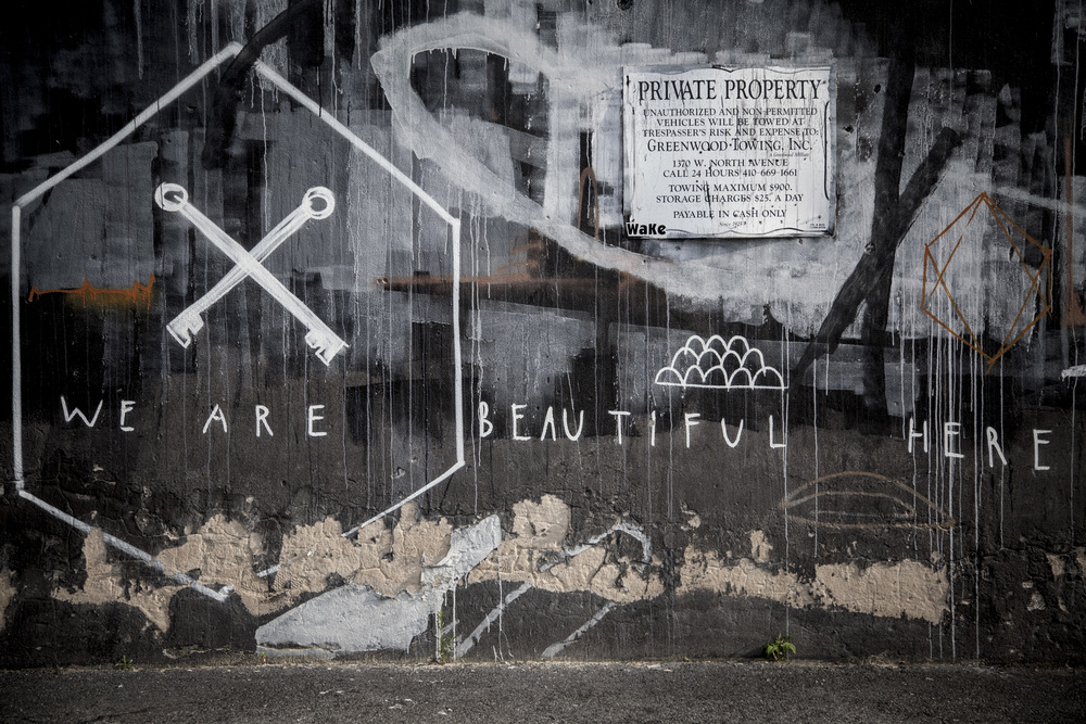 Baltimore, Maryland Street art cont.